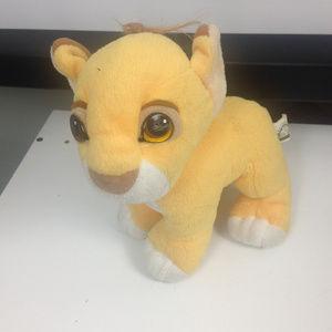 The Lion King Baby Simba Plush